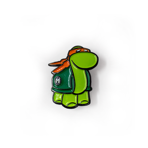 I like turtles - TMNT inspired pin set
