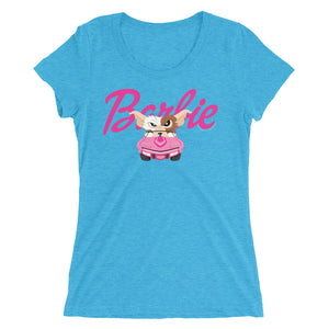 Little Pink Corvette Ladies' short sleeve t-shirt