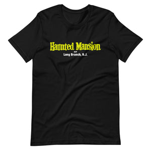 Haunted Mansion of Long Branch logo T Shirt