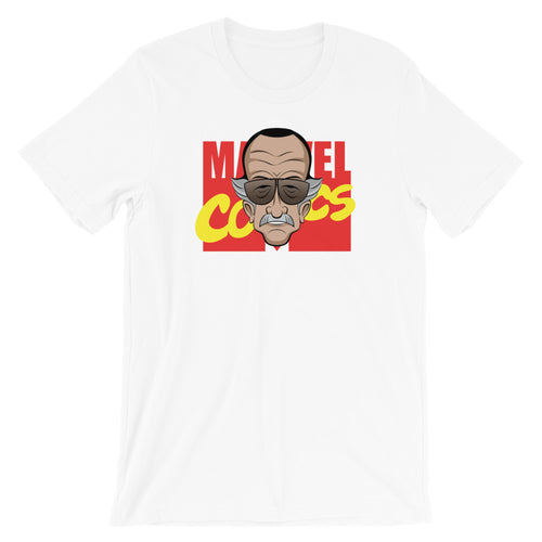 Stan Lee Marvel Comics tribute t-shirt