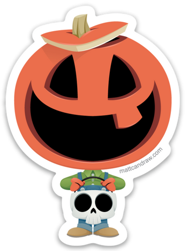 Pumpkin Pete - Sticker