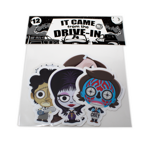 It Came From The Drive-In Vol. 1 -Sticker Pack