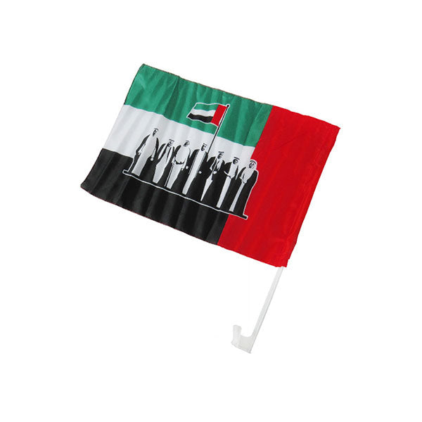 UAE National Flag For Cars ( Glass )