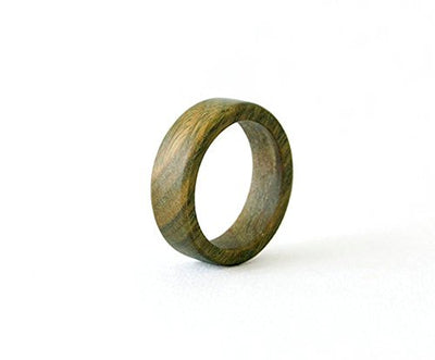 Personalized Sandalwood Promise Ring