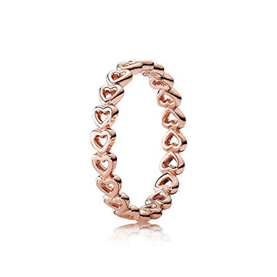 Pandora Linked Love Rose Gold Promise Ring