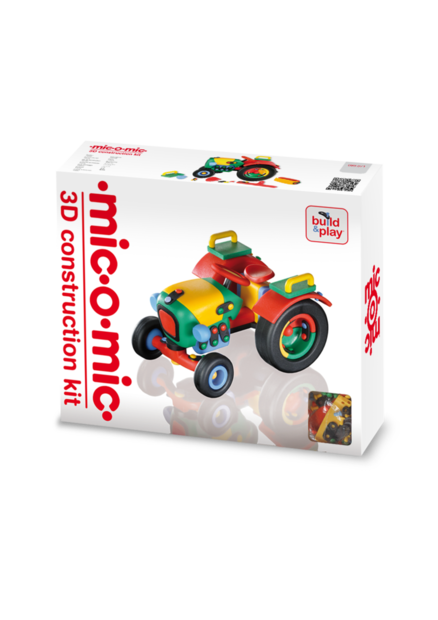 MIC-O-MIC. Big tractor 3D Construction Kit