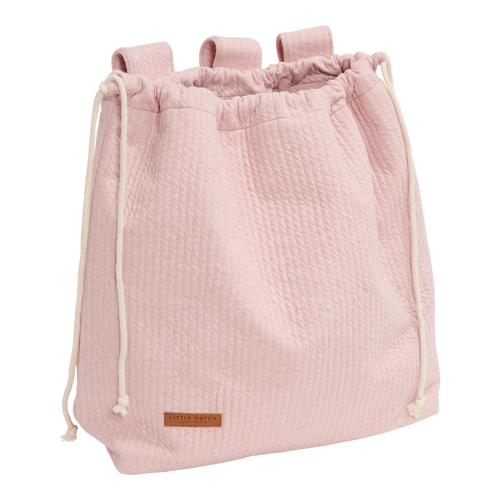 LITTLE DUTCH. Playpen toy bag Pure Pink