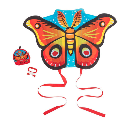 TIGER TRIBE. Pocket Kite - Wings (in red or pink colour)