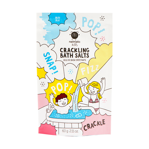 NAILMATIC. Crackling bath salt (μπλε)