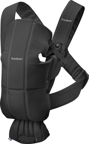 Babybjorn Μάρσιπος Mini, cotton, Black