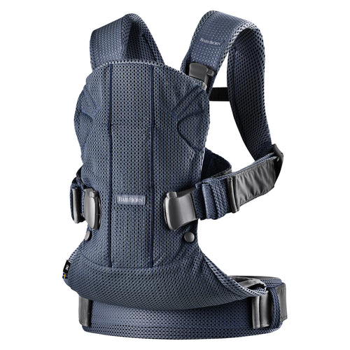 Babybjorn Μάρσιπος One Air Navy blue, 3D mesh