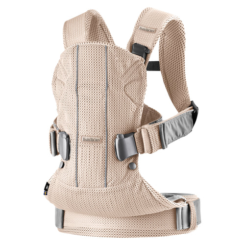 Babybjorn Μάρσιπος One Air Pearly pink, 3D mesh