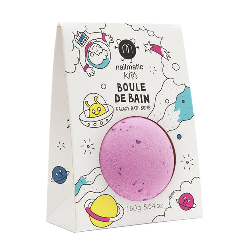 NAILMATIC. Bath bomb Cosmic (ροζ-λιλά)