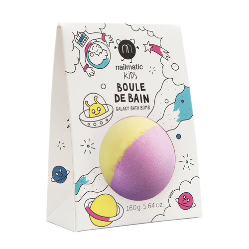 NAILMATIC. Bath bomb Spoutnic (ροζ-κίτρινο)