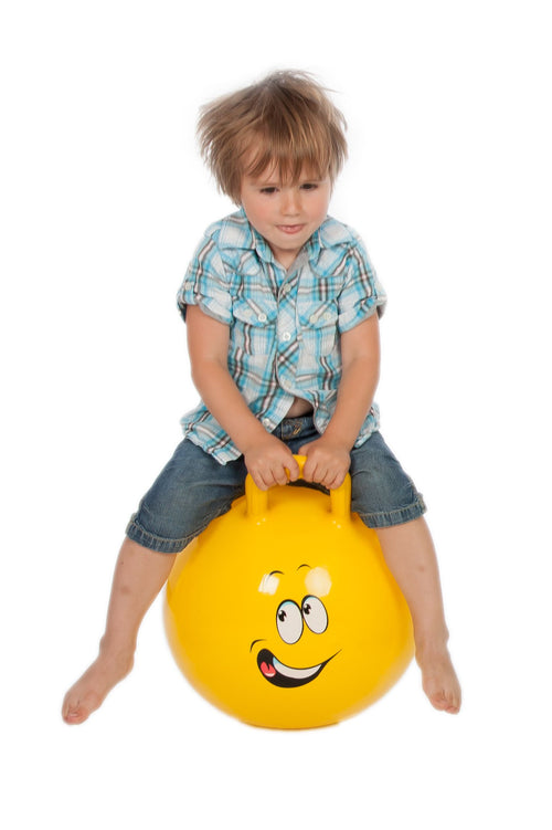 JUMPY. Hopping Ball 45cm (yellow)