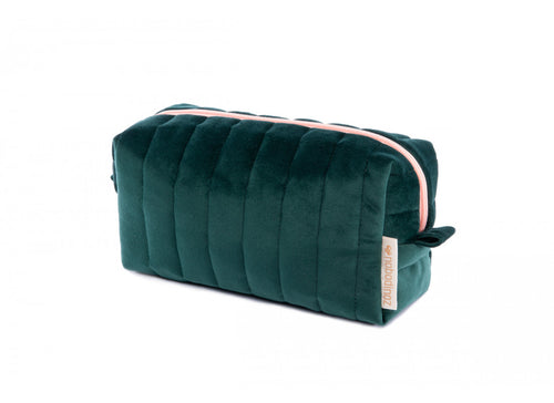 VELVET. Τσαντάκι Savanna Vanity Jungle Green 20Χ9Χ8