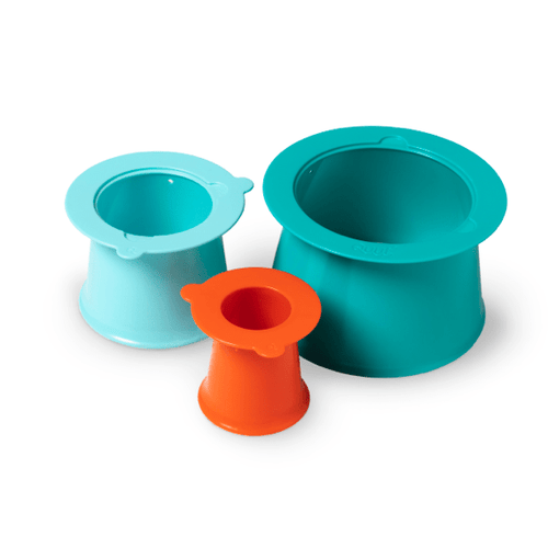 Quut. Alto - Sandcastle builder (green-blue-orange)