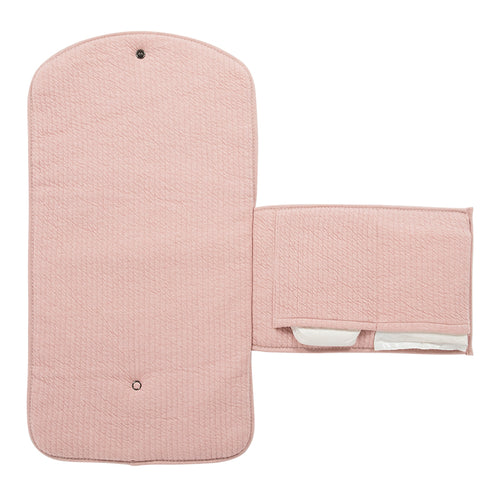 LITTLE DUTCH. Changing pad comfort Pure Pink 70 x 36