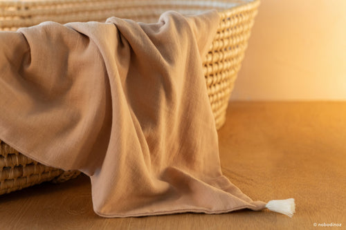 NEW ELEMENTS. Treasure summer blanket Nude