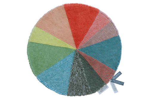 Lorena Canals. Χαλί δωματίου στρογγυλό Woolable Pie Chart. 120 εκ.