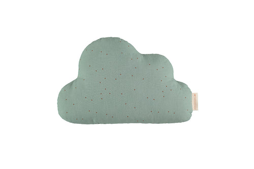 Μαξιλάρι συννεφάκι Cloud Toffee Sweet dots/ Eden Green 24X38