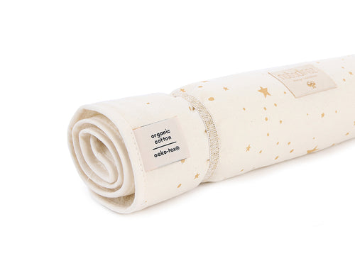 NEW ELEMENTS. Nomad changing pad Gold stella/ Natural