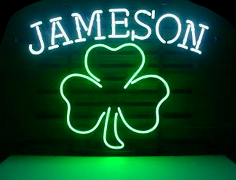 Jameson Shamrock Neon Sign