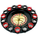 Roulette Drinking Game with 16 Glasses