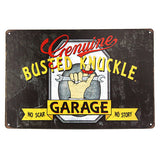 Vintage Metal Car Signs (Many Styles)
