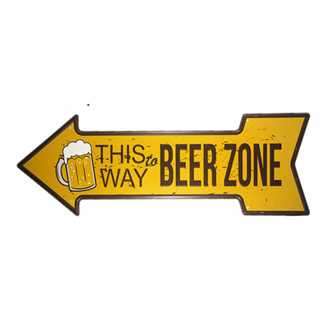 This Way to Beer Zone