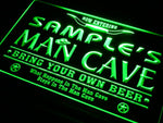 Personalized Man Cave Neon Sign