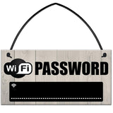 Wifi Pass Word Chalk Board Sign