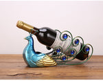 Peacock Wine Rack