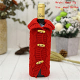 Wine Bottle Christmas Covers
