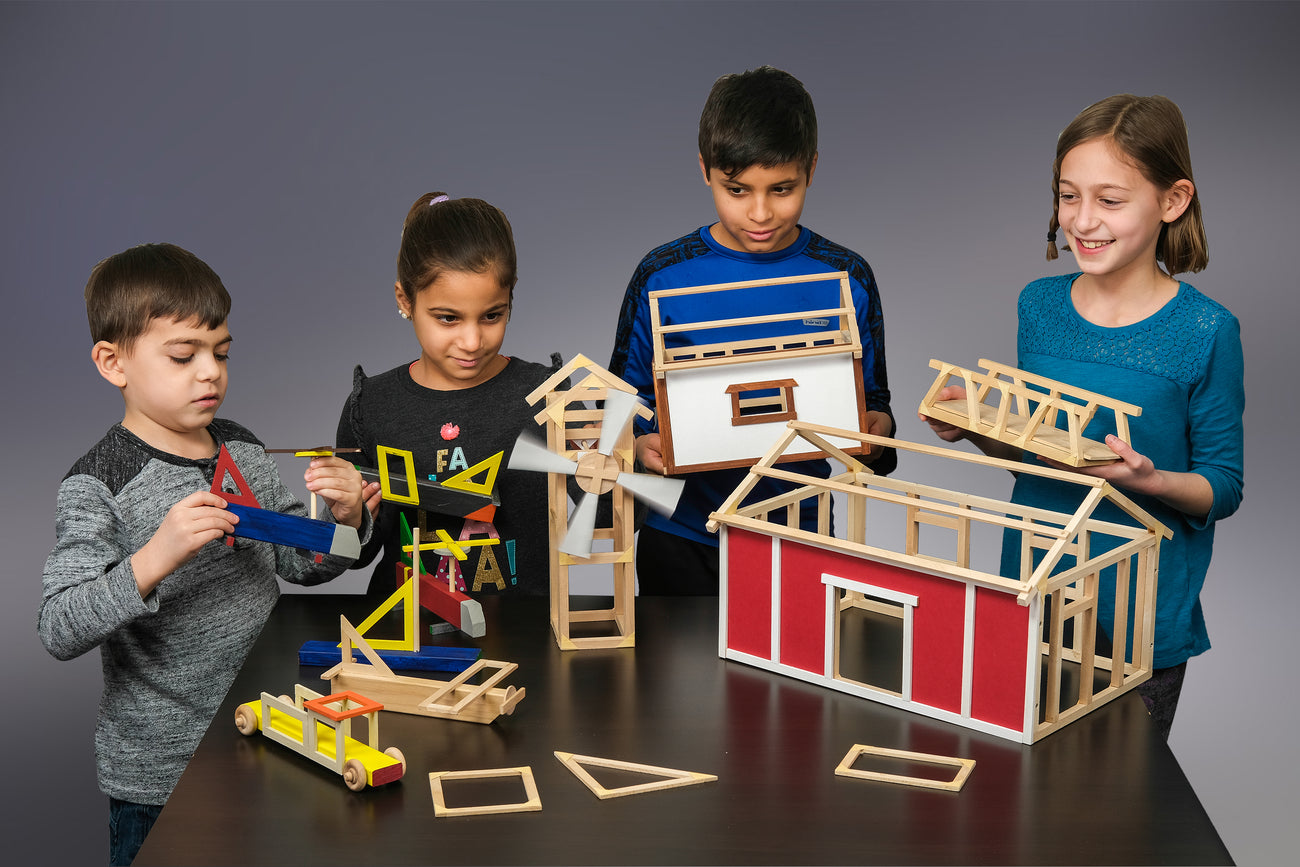 building projects for kids and teens, maker space and home school