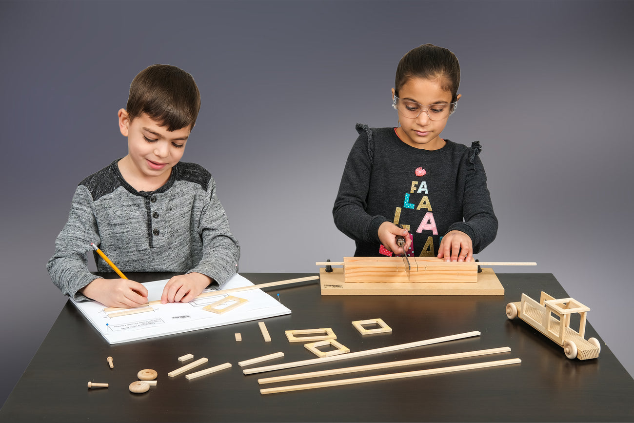 building projects for kids and teens, Montessori and home school
