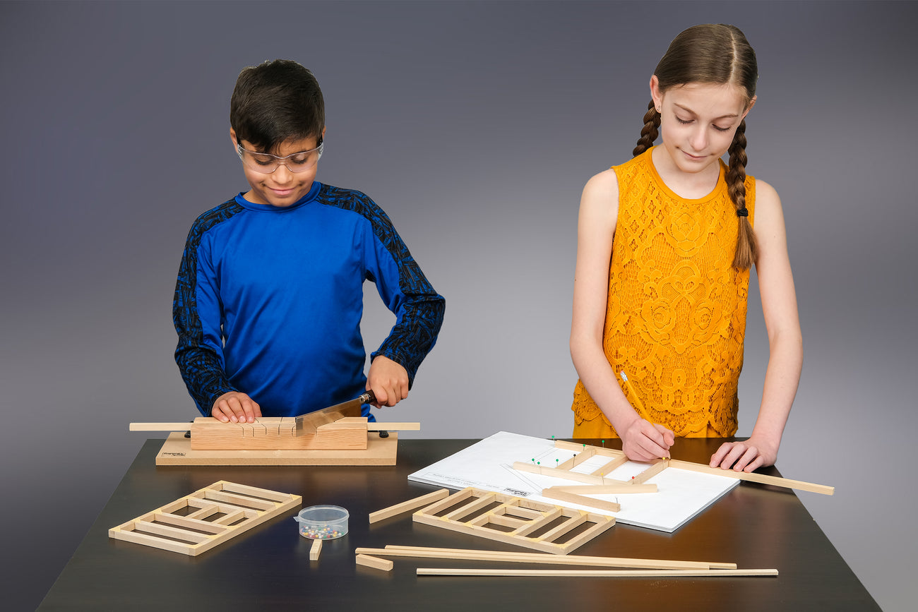 kids projects that use real tools and blueprints