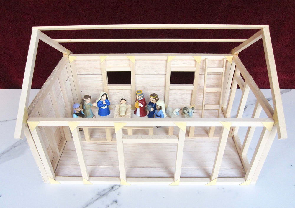 Holiday Special - Starter Kit - Engineering 4 Kids & Teens, 8-12 years (Workshop + Nativity Barn Project), Kids & Teens, - Hands 4 Building