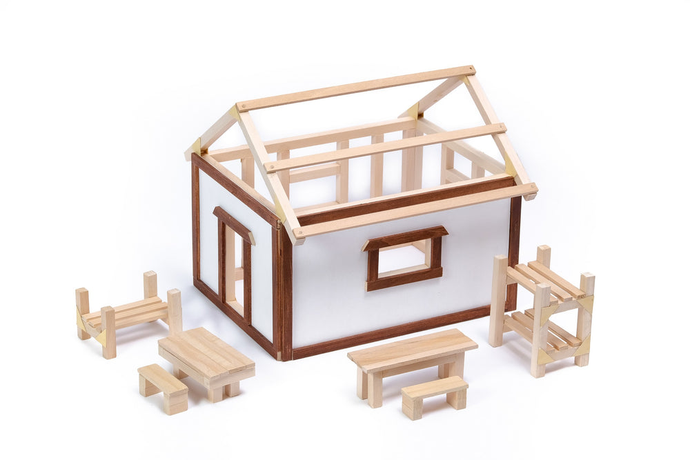 Kids & Teens - Architecture & Design (House + Furniture) Curriculum link included!, Refill, - Hands 4 Building