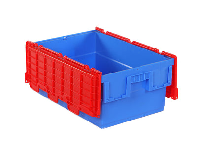 600(L) x 400(B) x 250(H) MM - Attached Lid Crate