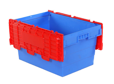 600(L) x 400(B) x 300(H) MM - Attached Lid Crate
