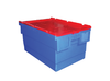 628(L) x 383(B) x 303(H) MM - Attached Lid Crate