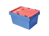 600(L) x 400(B) x 320(H) MM - Attached Lid Crate