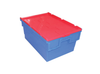 600(L) x 400(B) x 350(H) MM - Attached Lid Crate