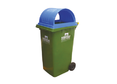 Wheeled Bin Injection Molded