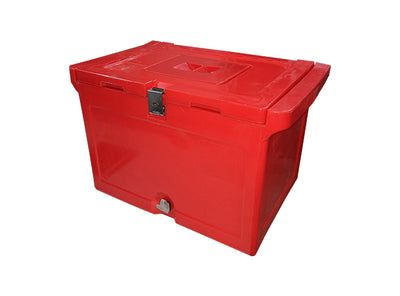 Ice Box - 50 Litre With Built In Hinge Rod