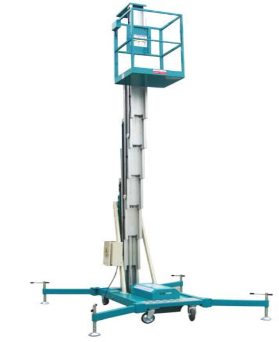 Aluminium Aerial Work Platform – Single Mast