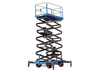 Semi Electric Mobile Scissor Lift