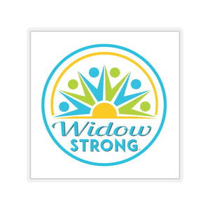 Widow Strong Sticker