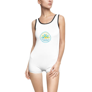 Widow Strong Women's Vintage Swimsuit